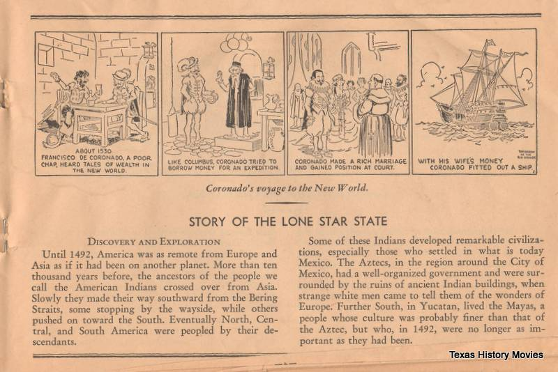 page 1 - Story of the Lone Star State