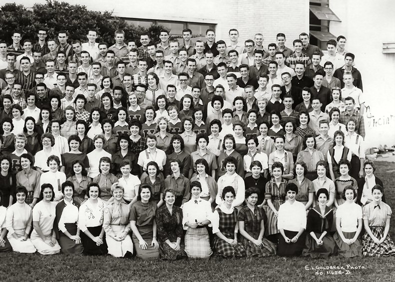 Lamar Class of 1959 - Panel 4