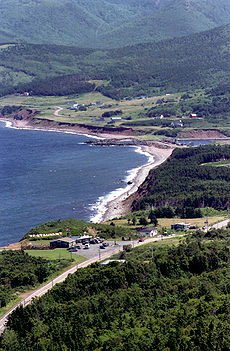 Pleasant Bay along Cabot Trail