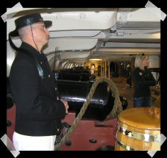 USS Constitution - below decks 2009